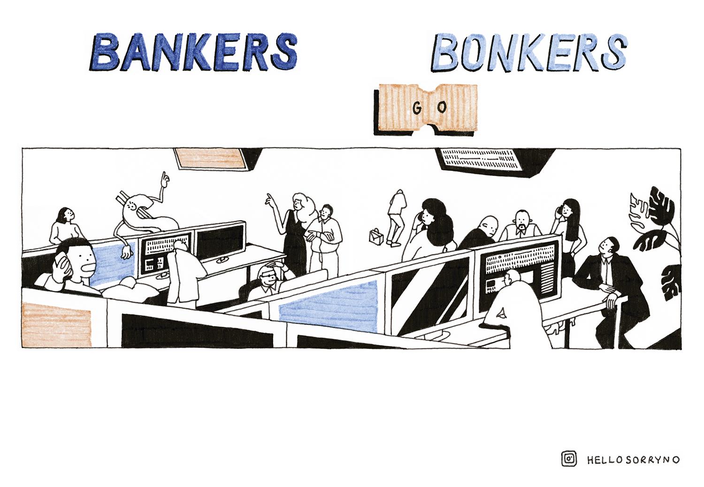 Agate Lielpetere - Bankers go Bonkers / KUSH #35