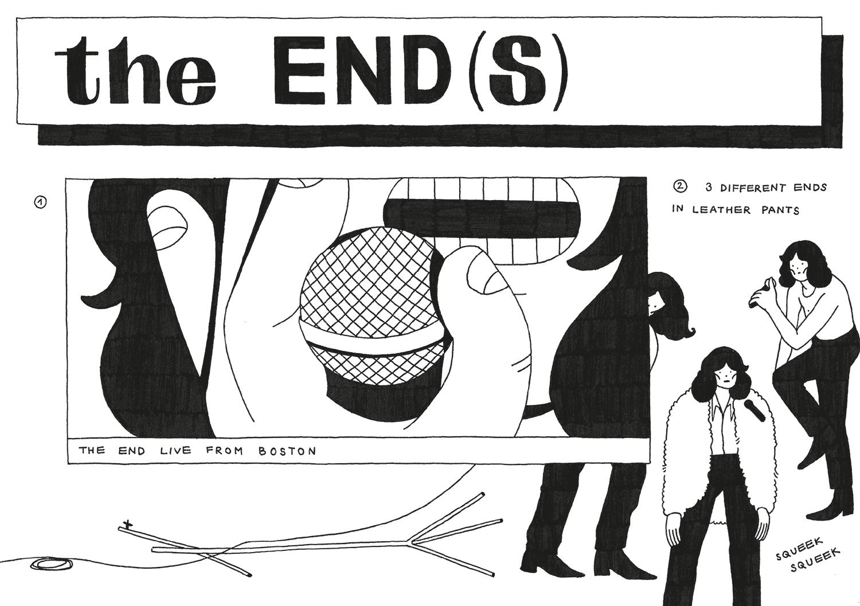 Agate Lielpetere - The End(s) / KUŠ! #40