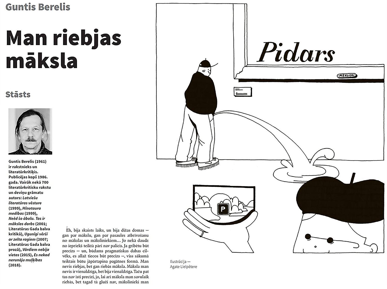 Agate Lielpetere - Illustrations for the magazine Domuzime
